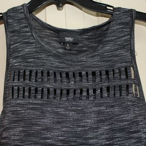 Massimo Tops - BLACK TANK TOP SIZE L